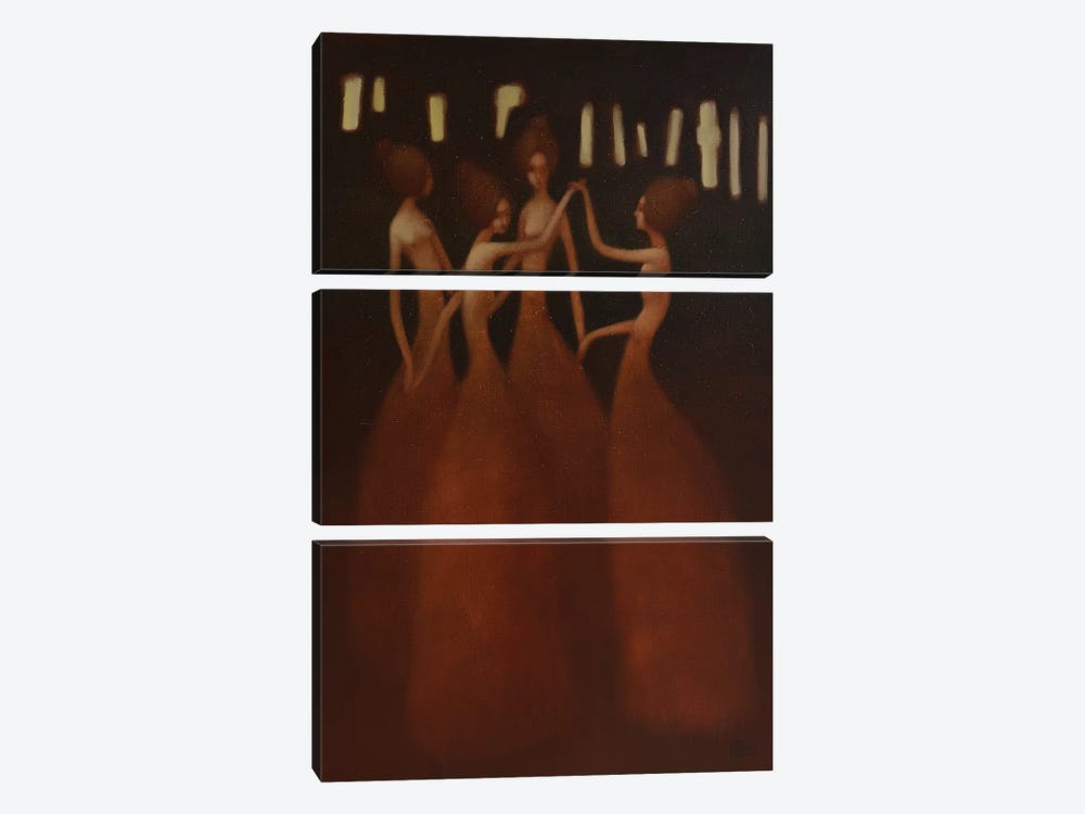 Eternal Dance by Eduard Zentsik 3-piece Art Print