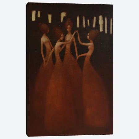 Eternal Dance Canvas Print #EZE13} by Eduard Zentsik Canvas Artwork