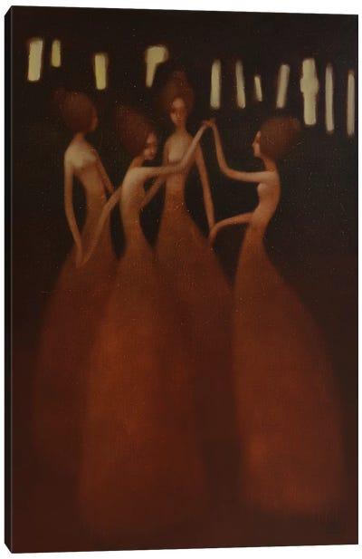 Eternal Dance Canvas Art Print