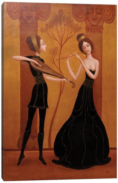 Eternal Melody Canvas Art Print