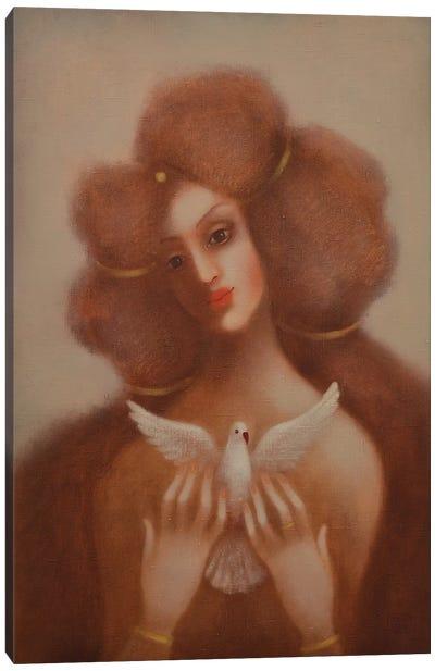 Flight Of Love Canvas Art Print