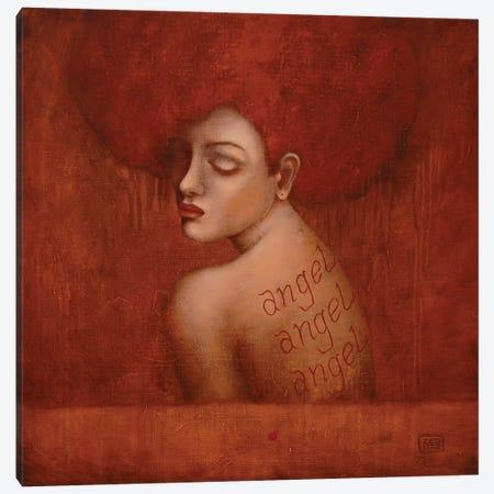 Ginger Angel Canvas Print #EZE18} by Eduard Zentsik Canvas Artwork