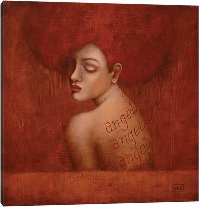Ginger Angel Canvas Art Print