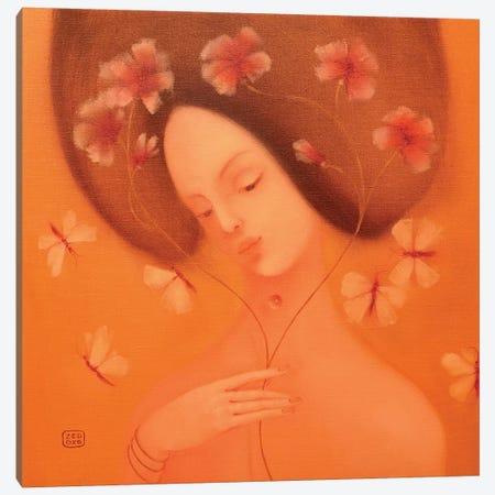 Musical Flowers Canvas Print #EZE34} by Eduard Zentsik Canvas Print