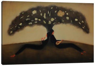 Mysterius Tree Flight Of Sound Canvas Art Print