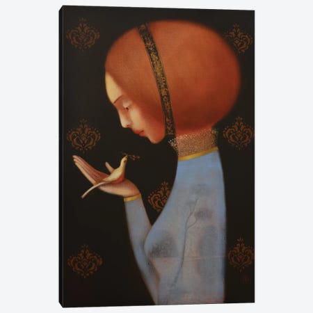 A Gentle Whisper Canvas Print #EZE3} by Eduard Zentsik Canvas Art