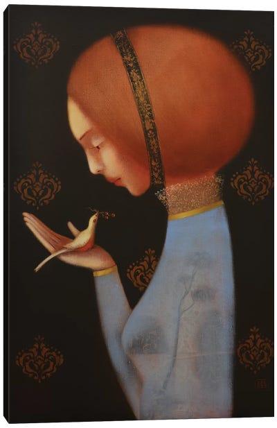 A Gentle Whisper Canvas Art Print