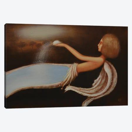 Snow Angel Canvas Print #EZE48} by Eduard Zentsik Art Print