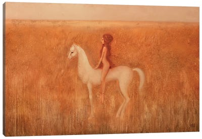 Tenderness Of Fire Canvas Art Print