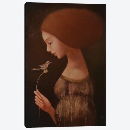 The Bird Of Happiness Canvas Print #EZE54} by Eduard Zentsik Canvas Art Print