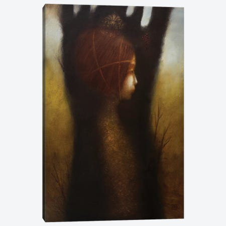 The Girl In A Dream Canvas Print #EZE55} by Eduard Zentsik Canvas Print