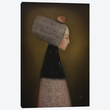 The Secret Of Life Canvas Print #EZE56} by Eduard Zentsik Art Print