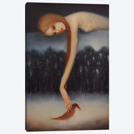 Unfulfilled Desire Canvas Print #EZE58} by Eduard Zentsik Canvas Art