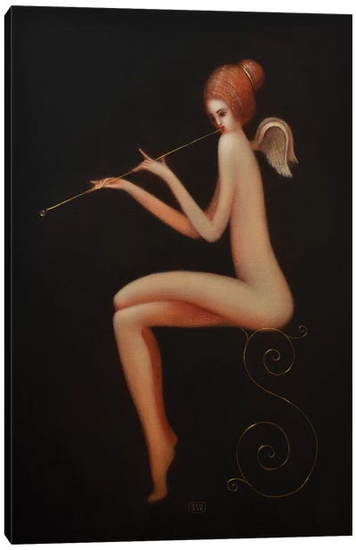 Angel Sound Canvas Art Print