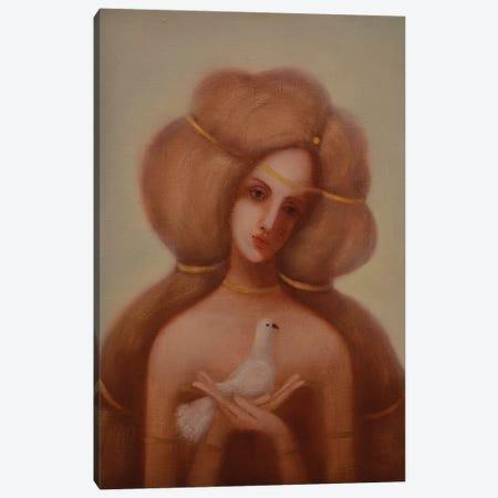 White Dove Canvas Print #EZE61} by Eduard Zentsik Canvas Print