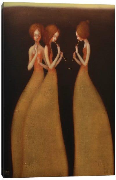 As Singing Flute Canvas Art Print