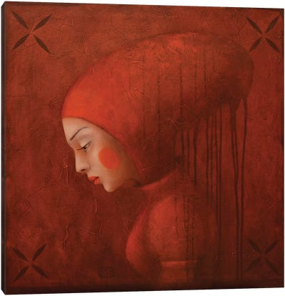By Red Frog Canvas Art Print