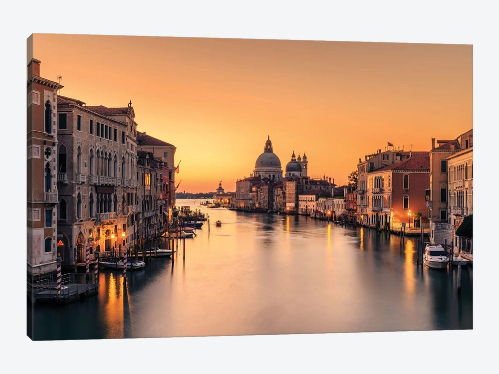 Dawn On Venice by Eric Zhang 1-piece Canvas Print