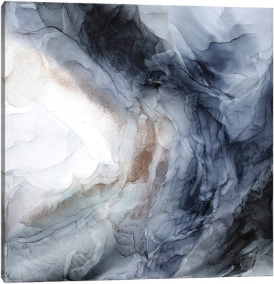 Chaos Wave Canvas Art Print
