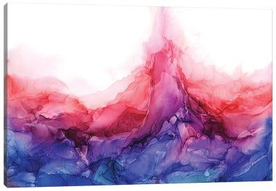 Pink Fire Canvas Art Print