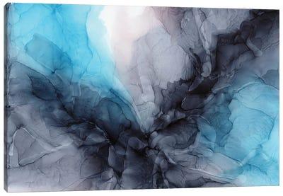 Aqua Drama Canvas Art Print