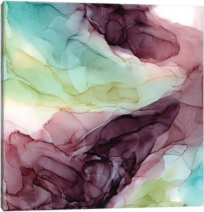 Plum Garden Canvas Art Print