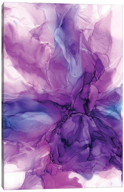 Purple Power II Canvas Art Print