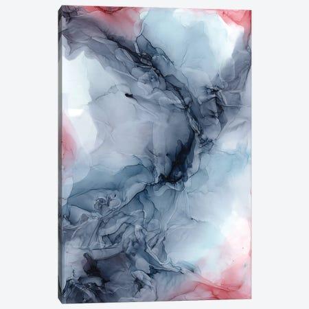 Sky Burgundy Gray Canvas Print #EZK43} by Elizabeth Karlson Art Print