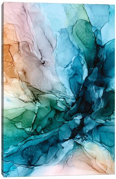 Salty Shores Canvas Art Print