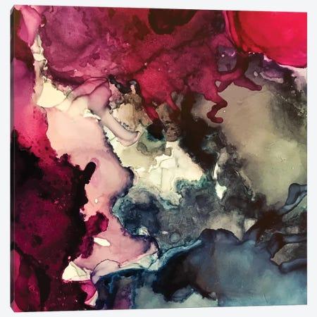 Dark Inks Alcohol Ink Painting Canvas Print #EZK57} by Elizabeth Karlson Canvas Print