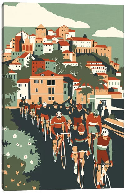Milan - San Remo Canvas Art Print