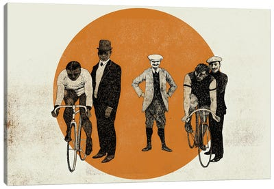 Old Time Trial, 2014 Canvas Art Print
