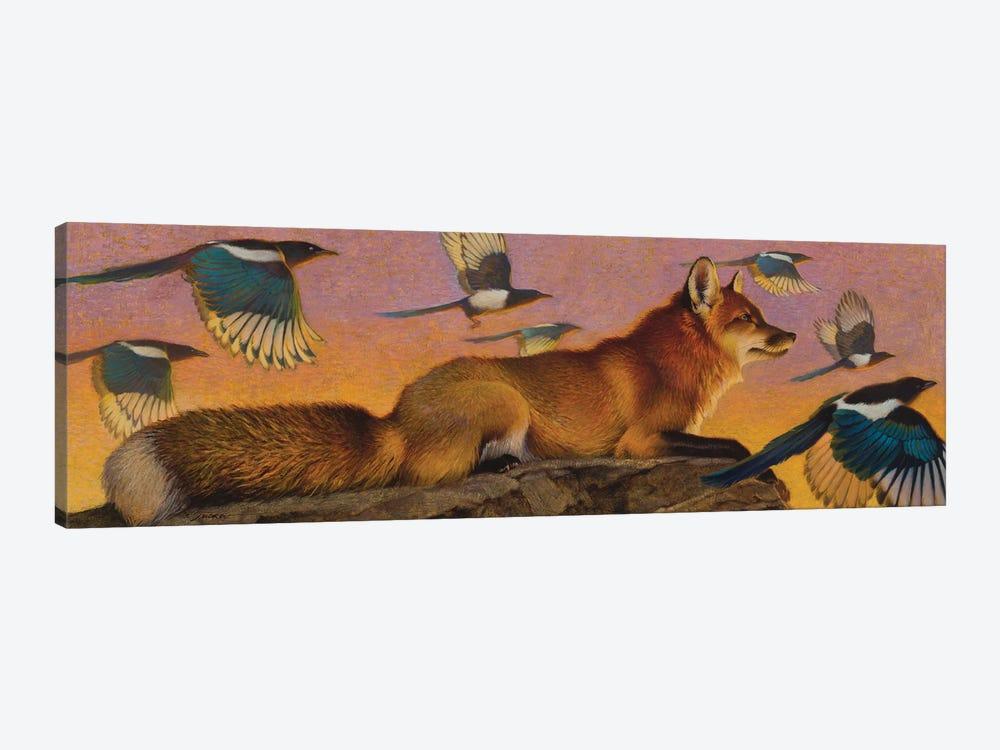 Magpie Melody by Ezra Tucker 1-piece Canvas Wall Art