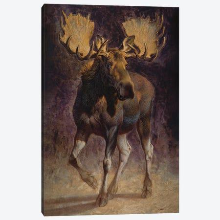 Teton Canvas Print #EZT59} by Ezra Tucker Art Print