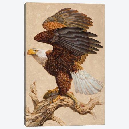 The Bold & The Brave Canvas Print #EZT62} by Ezra Tucker Canvas Art