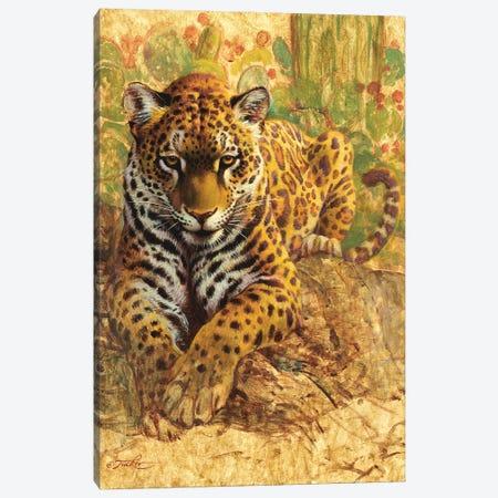 American Tiger Canvas Print #EZT6} by Ezra Tucker Art Print