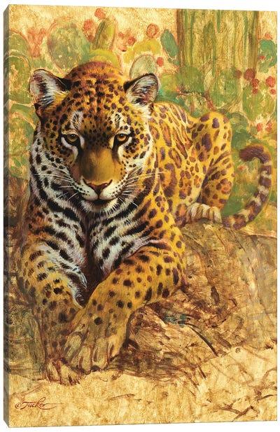 American Tiger Canvas Art Print