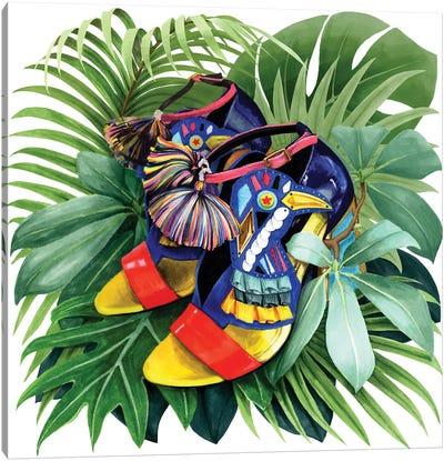 Paradise Bird Canvas Art Print