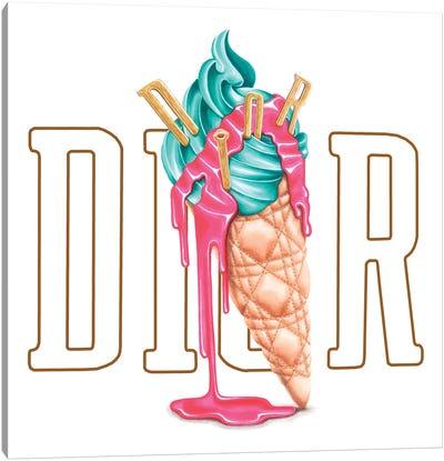Dior Icecream Canvas Art Print
