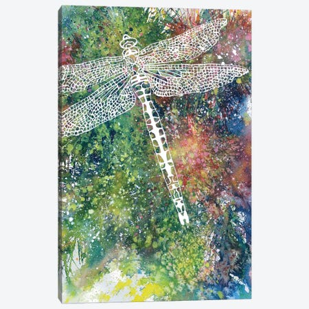 Dragonfly 3-Piece Canvas #FAB14} by Michelle Faber Canvas Art
