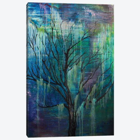 Enchanted Tree Canvas Print #FAB18} by Michelle Faber Art Print