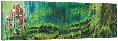 Forest Mushrooms Canvas Art Print