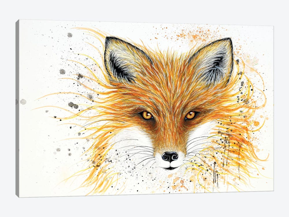 Fox Fire by Michelle Faber 1-piece Canvas Artwork