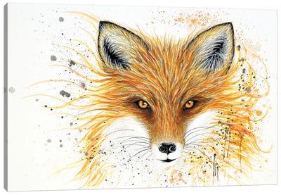 Fox Fire Canvas Art Print