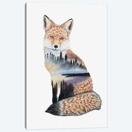 Fox Lake Landscape Canvas Print #FAB24} by Michelle Faber Canvas Art Print