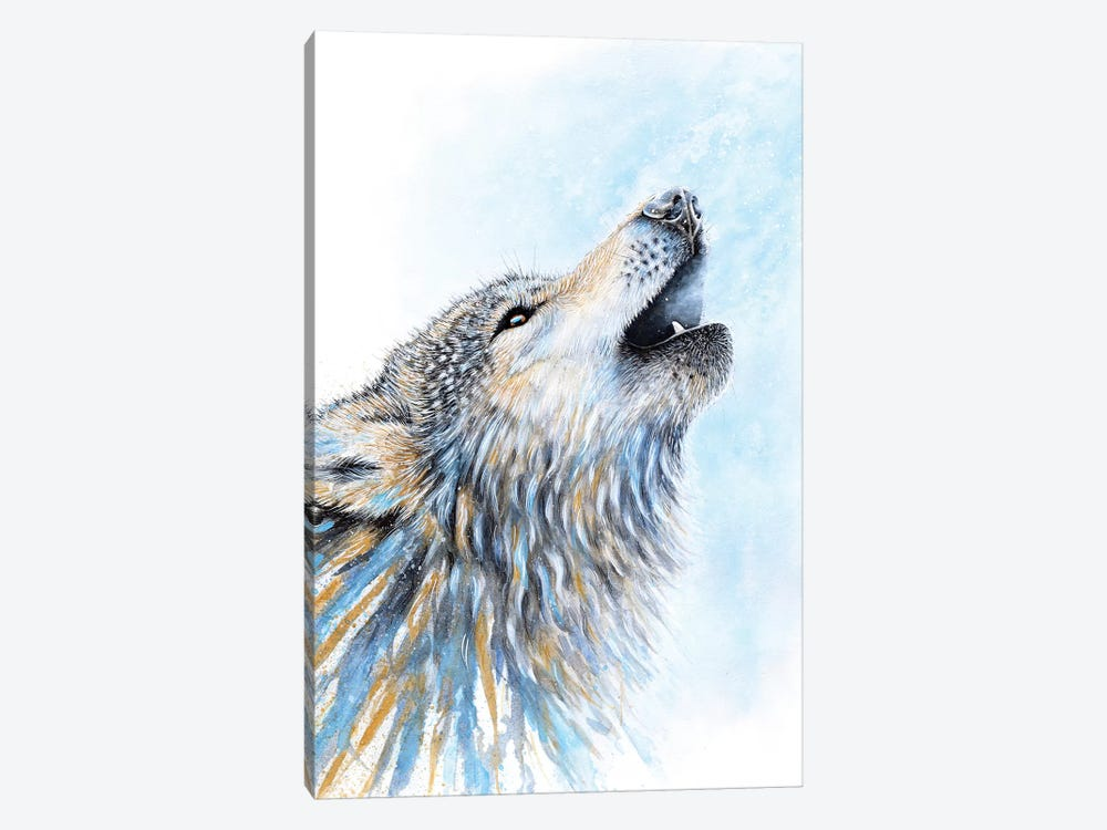 Howling Wolf by Michelle Faber 1-piece Canvas Art Print