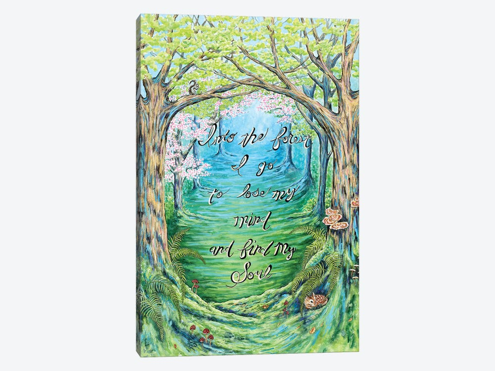 Into The Forest by Michelle Faber 1-piece Canvas Wall Art
