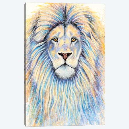 Leo The Lion Canvas Print #FAB31} by Michelle Faber Canvas Print