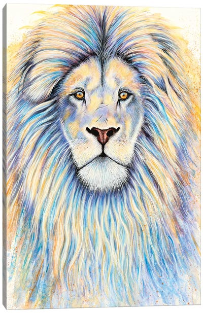 Leo The Lion Canvas Art Print