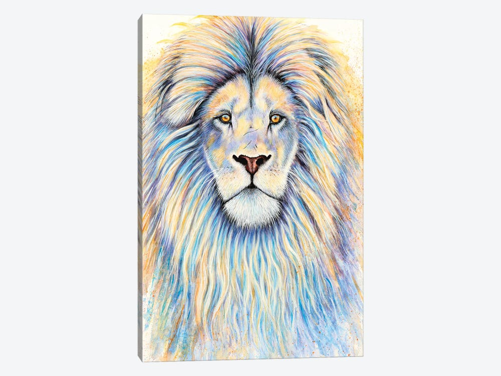 Leo The Lion by Michelle Faber 1-piece Canvas Art Print